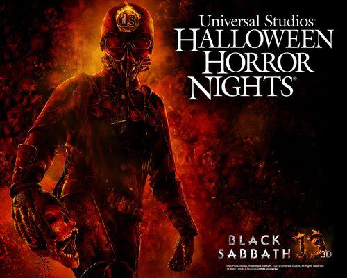 Black Sabbath Universal Studios Halloween Horror Nights