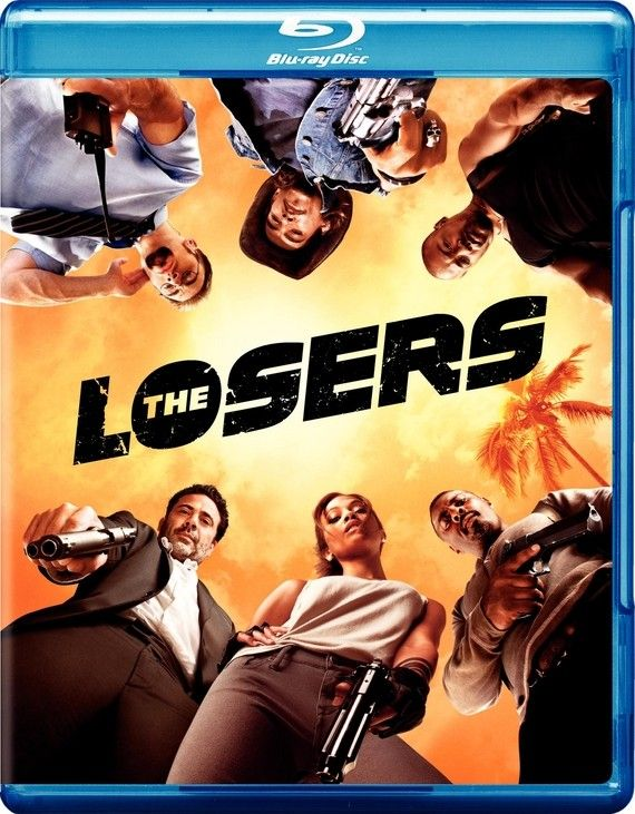 <strong><em>The Losers</em></strong> Blu-ray artwork