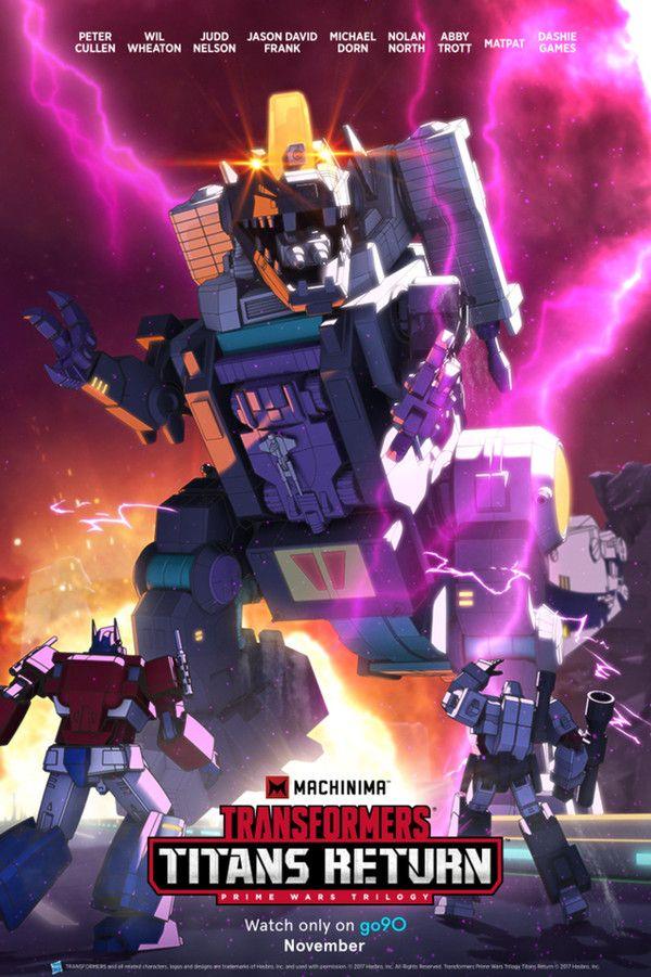 <strong><em>Transformers: Titans Return</em></strong> Poster