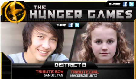 <strong><em>The Hunger Games</em></strong> District 8 Tributes