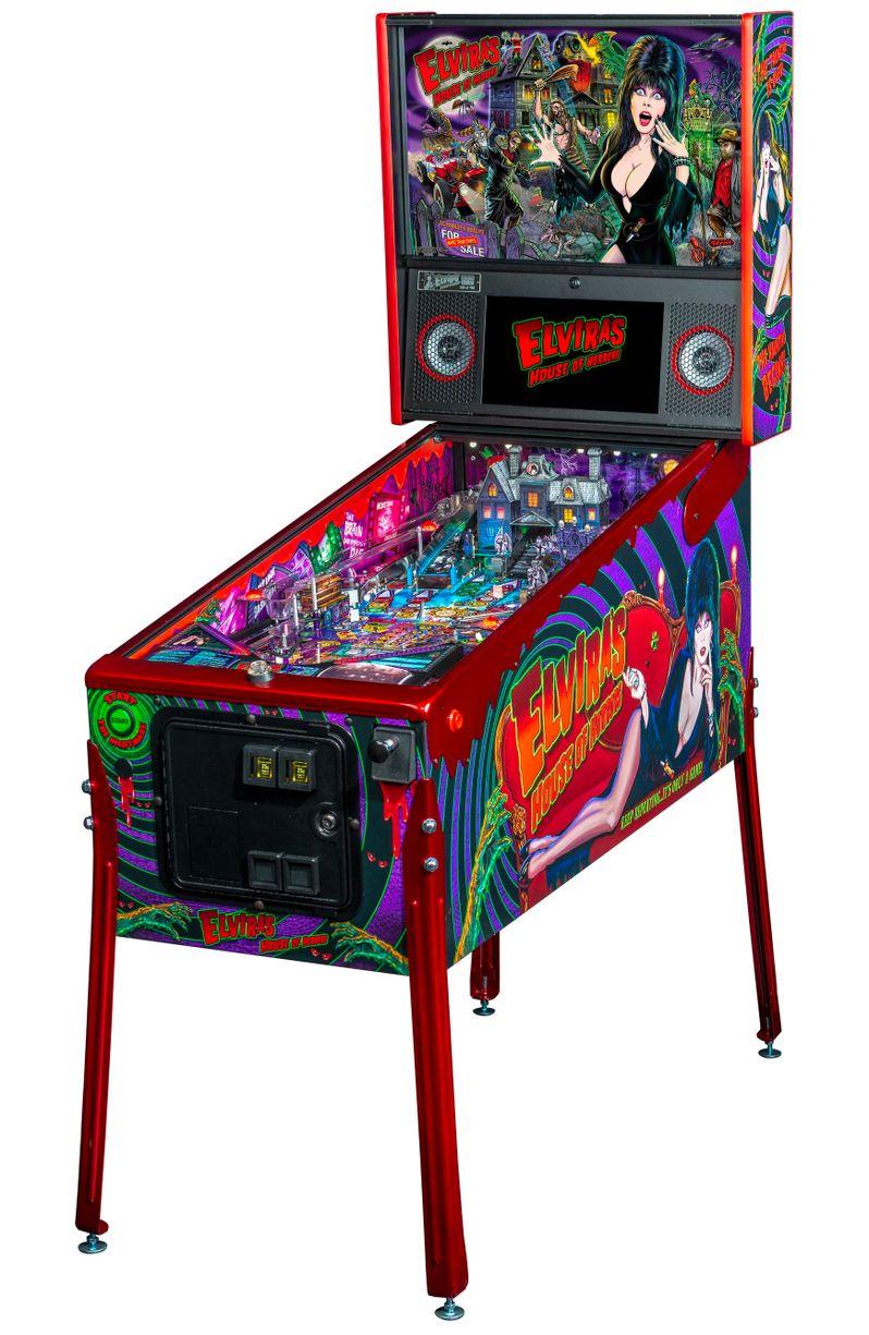 Elvira's House of Horrors Pinball machine by Stern #16