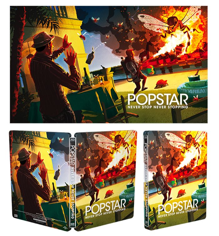 <strong><em>Popstar: Never Stop Never Stopping</em></strong> Steelbook Limited Edition Lithograph