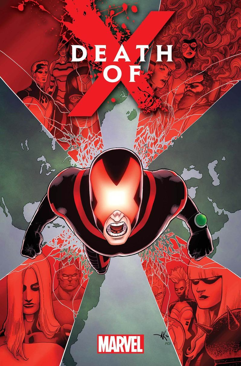 Death of X-men Comic Book