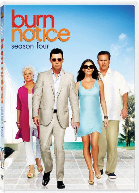 <strong><em>Burn Notice</em></strong>: Season 4 DVD artwork