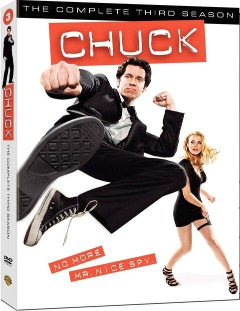 <strong><em>Chuck</em></strong>: The Complete Third Season DVD artwork