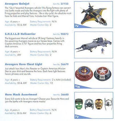 <strong><em>Marvel's The Avengers</em></strong> Toy Fair Photo #3