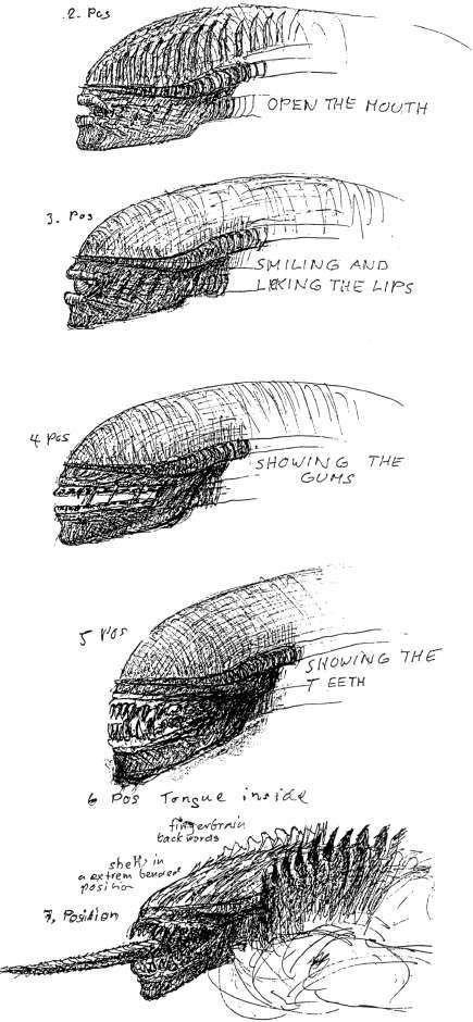 <strong><em>Alien 3</em></strong> Xenomorph lips photo #2
