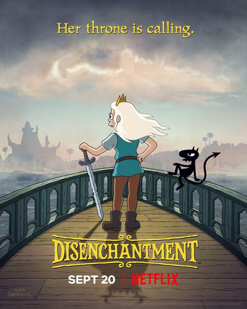 <strong><em>Disenchantment</em></strong> Season 2 Poster