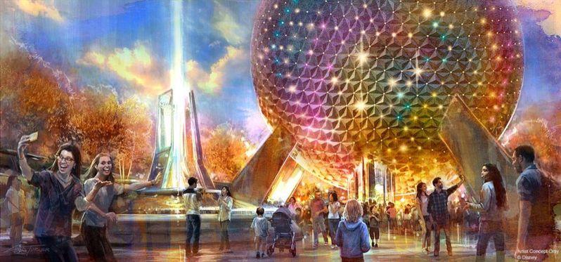 Epcot Disney Parks D23 Expo 2019 #11