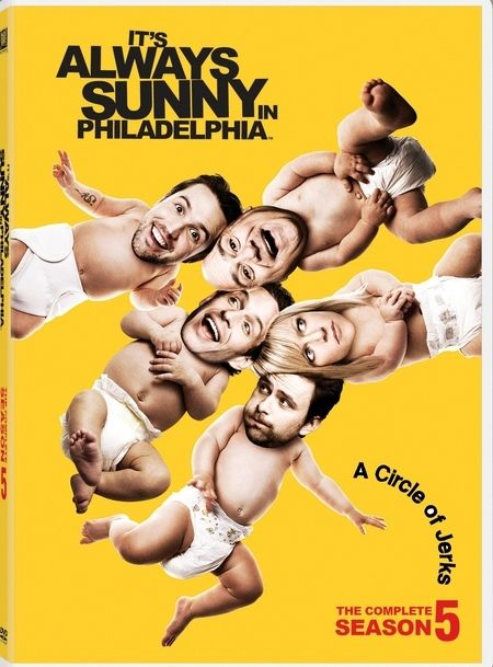 <strong><em>It's Always Sunny in Philadelphia</em></strong>: Season 5 DVD artwork