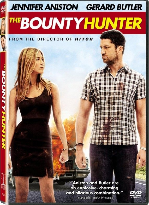 <strong><em>The Bounty Hunter</em></strong> DVD cover