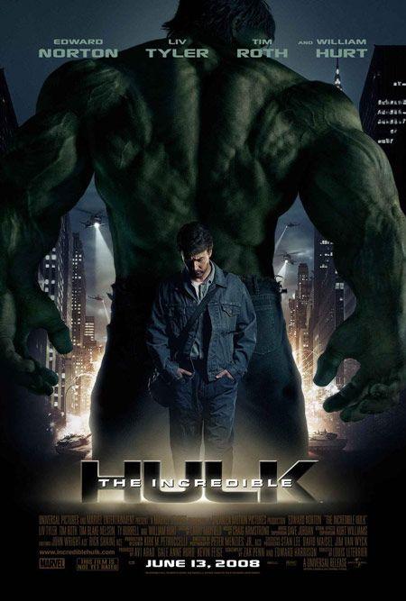 <strong><em>The Incredible Hulk</em></strong> Poster
