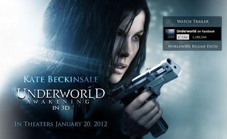 Underworld: Awakening Website Artwork