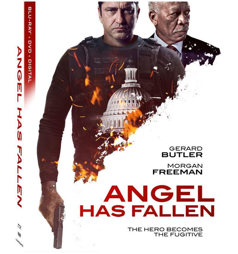 <strong><em>Angel Has Fallen</em></strong> Blu-ray