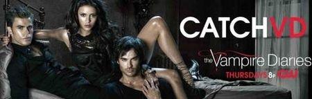 Vampire Diaries Cast Catch VD Billboard