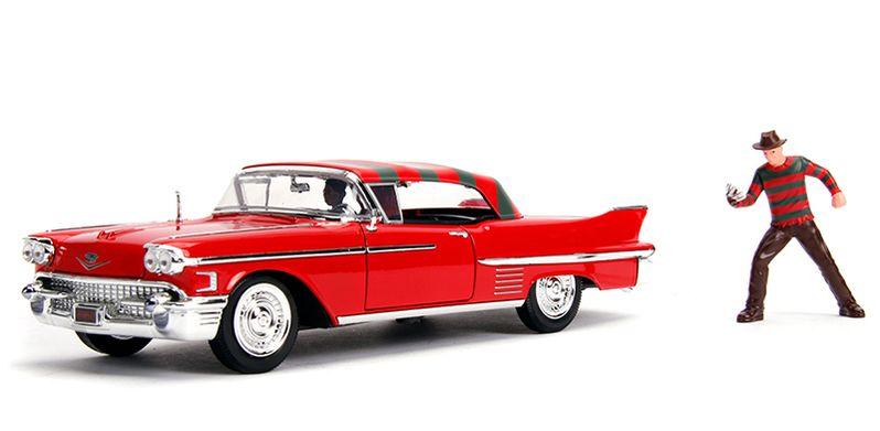 Freddy Cadillac Nightmare on Elm Street Toy Car Photo #2