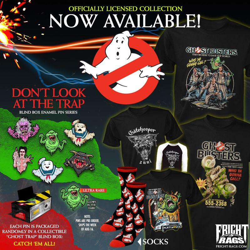 Ghostbusters Fright-Rags Collection