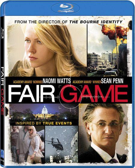 <strong><em>Fair Game</em></strong> Blu-ray artwork