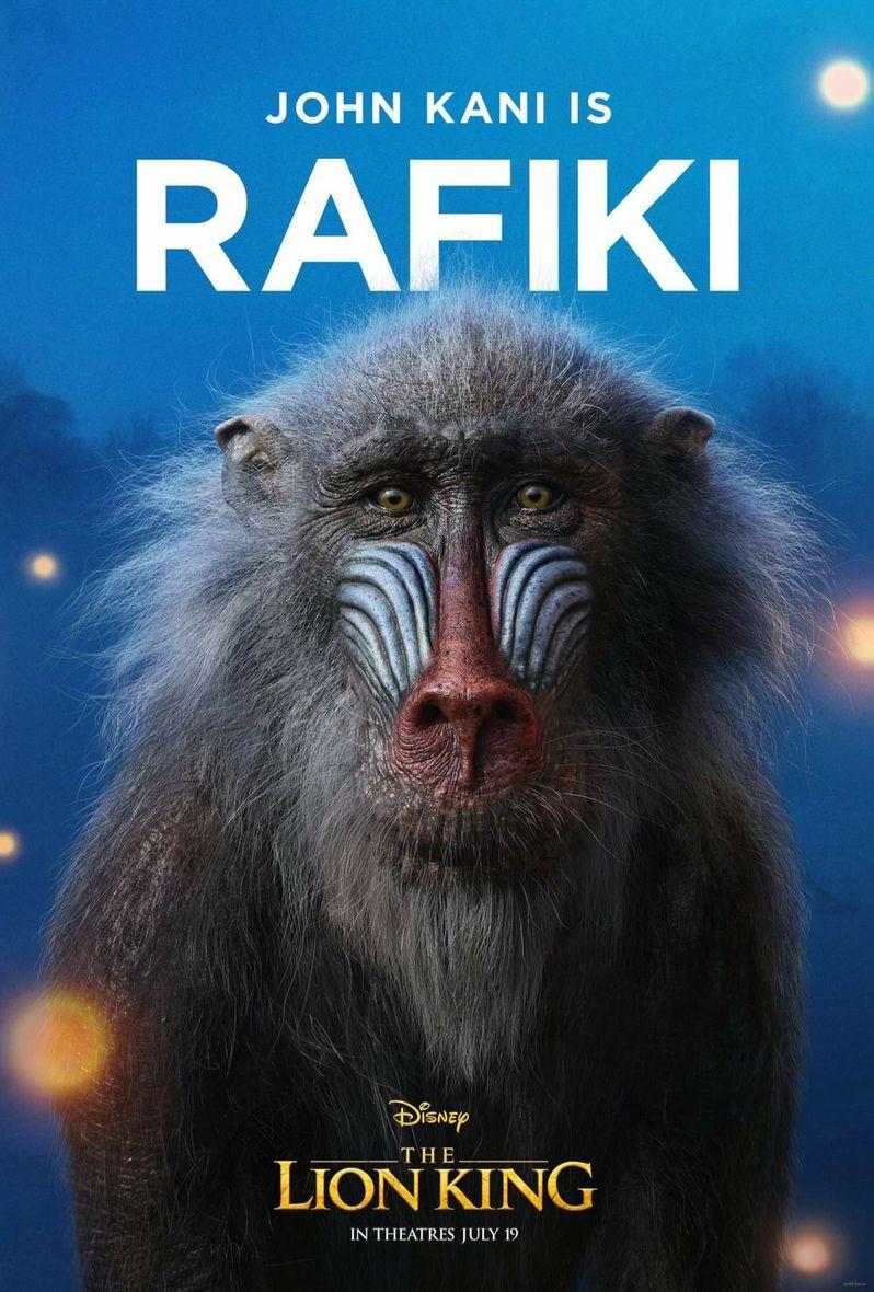 <strong><em>The Lion King</em></strong> Poster Rafiki
