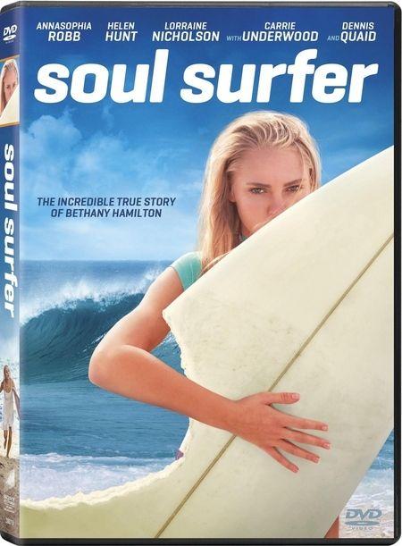 <strong><em>Soul Surfer</em></strong> DVD artwork