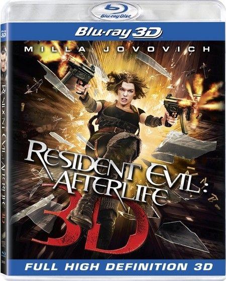 <strong><em>Resident Evil: Afterlife</em></strong> 3D Blu-ray artwork