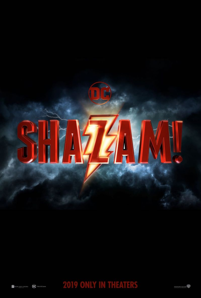 First Shazam! Poster Strikes Like Lightning
