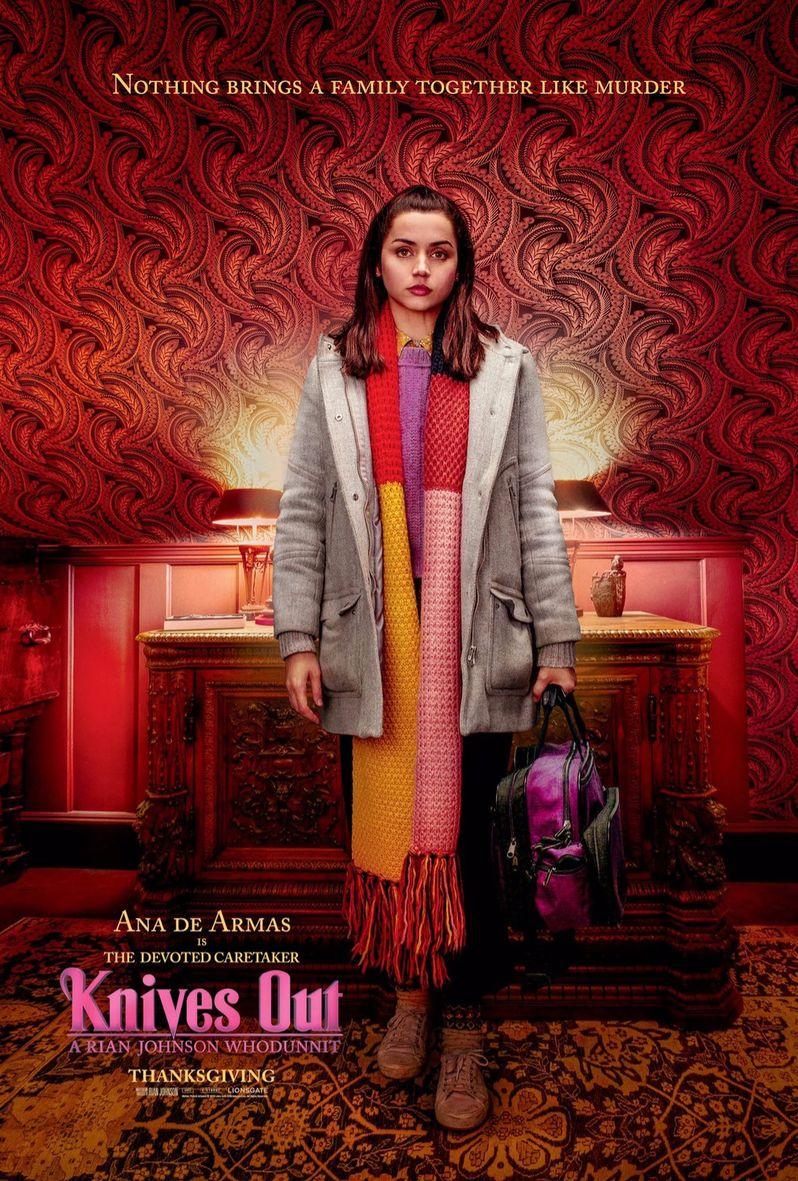 <strong><em>Knives Out</em></strong> Ana De Armas poster
