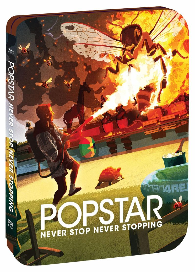 <strong><em>Popstar: Never Stop Never Stopping</em></strong> Steelbook Blu-ray