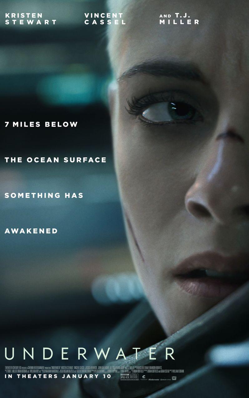 <strong><em>Underwater</em></strong> movie poster