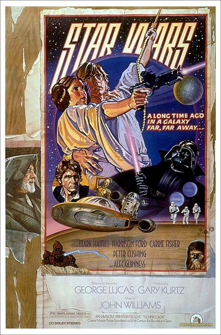 Star Wars Drew Struzan Poster