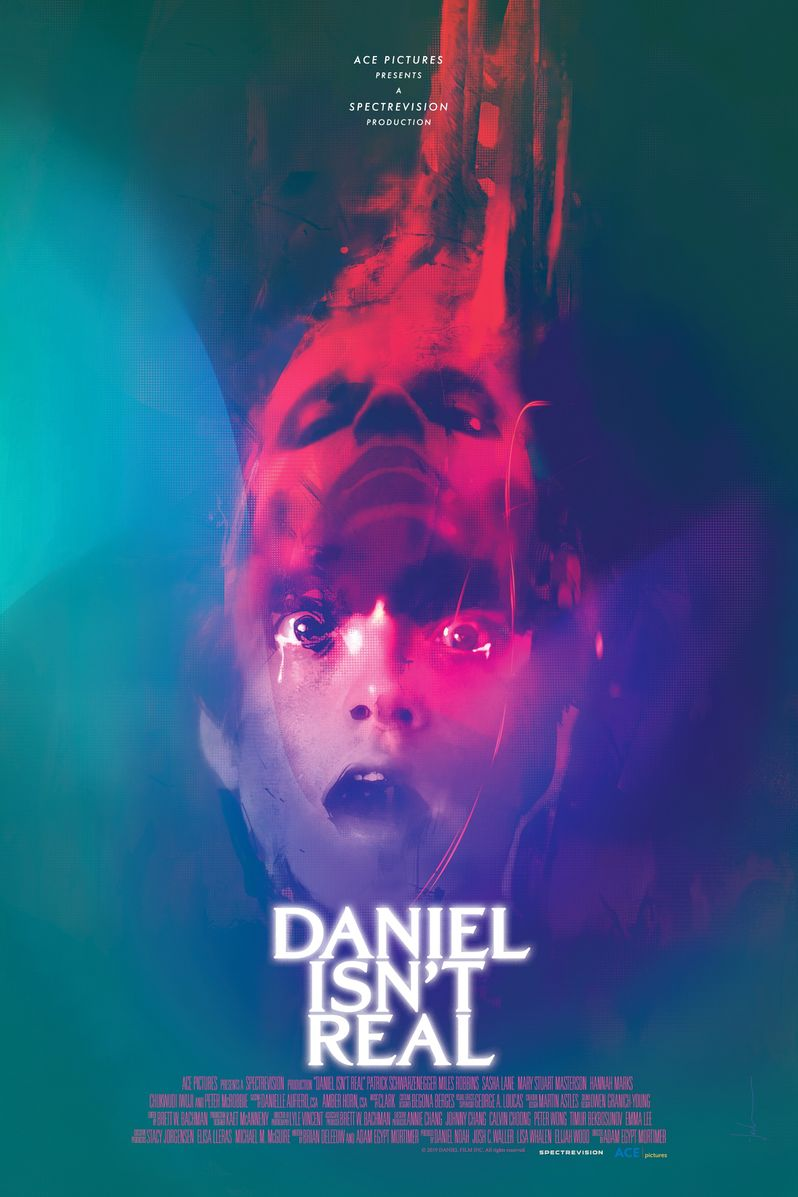 <strong><em>Daniel Isn't Real</em></strong> poster