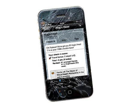 Rubeus Hagrid iPhone 4Square