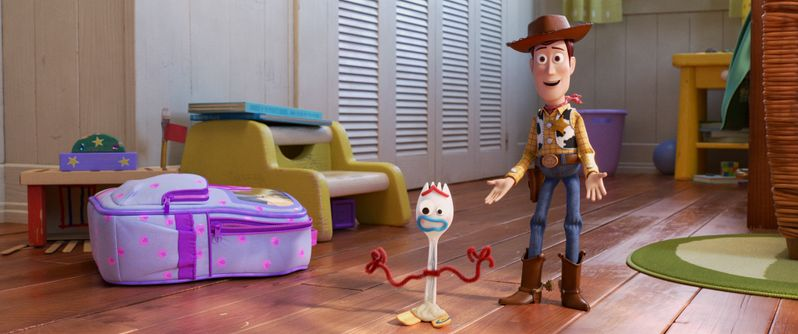 <strong><em>Toy Story 4</em></strong> Woody and Forky photo