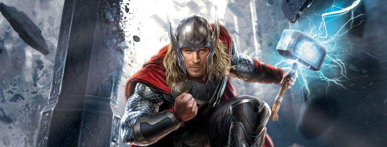 Thor The Dark World Promo Art