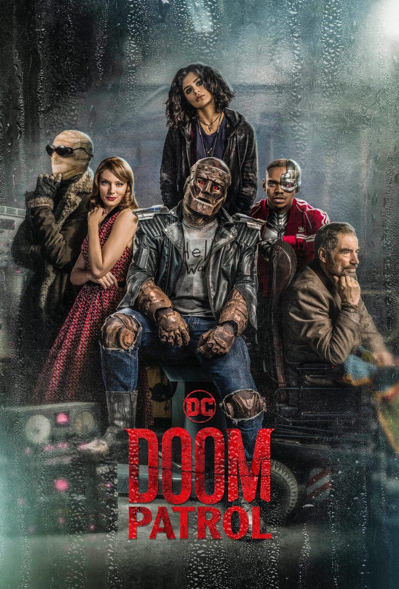 <strong><em>Doom Patrol</em></strong> poster