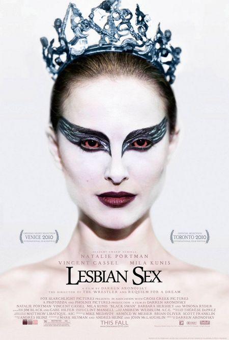 Black Swan Honest Poster