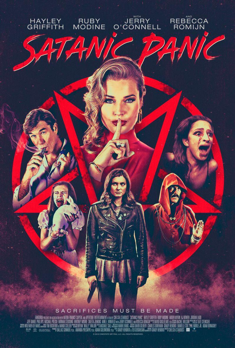<strong><em>Satanic Panic</em></strong> poster