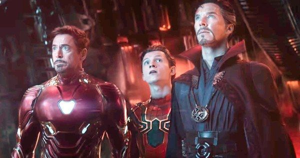 Spider-Man Tony Stark Infinity War