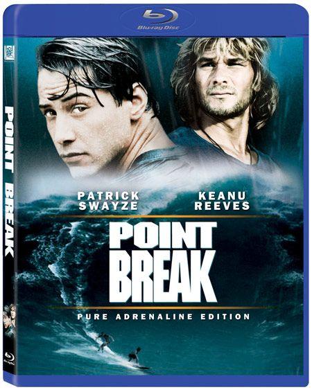 <strong><em>Point Break</em></strong> blu-ray