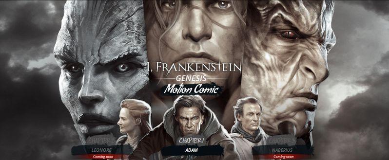 <strong><em>I, Frankenstein</em></strong> Motion Comic