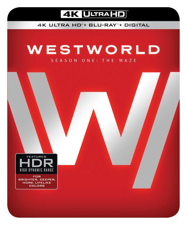 <strong><em>Westworld</em></strong> Season One 4K Blu-ray