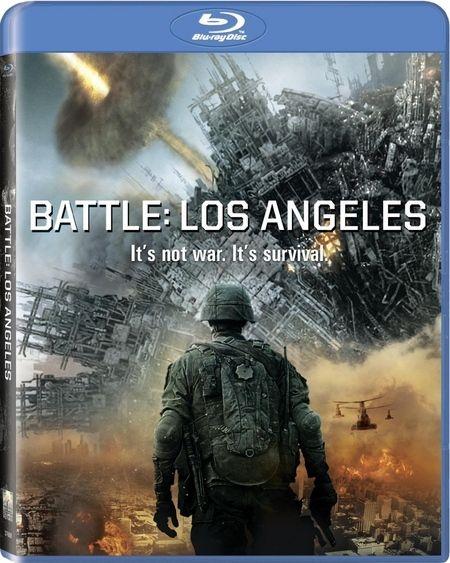 <strong><em>Battle: Los Angeles</em></strong> Blu-ray artwork