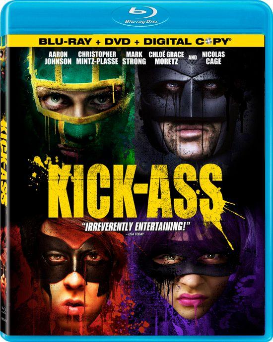 <strong><em>Kick-Ass</em></strong> Blu-ray artwork