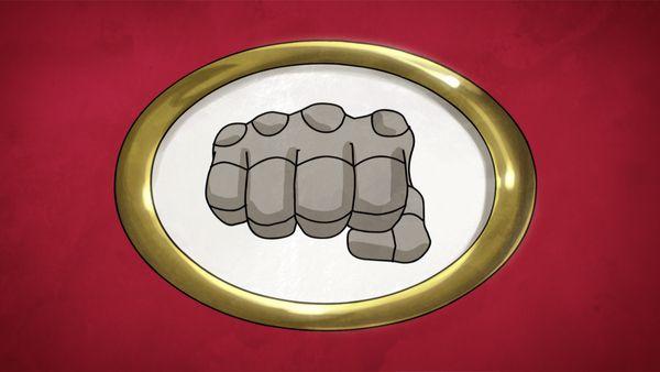 <strong><em>Apollo Gauntlet</em></strong> Fist Logo