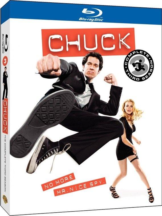 <strong><em>Chuck</em></strong>: The Complete Third Season Blu-ray