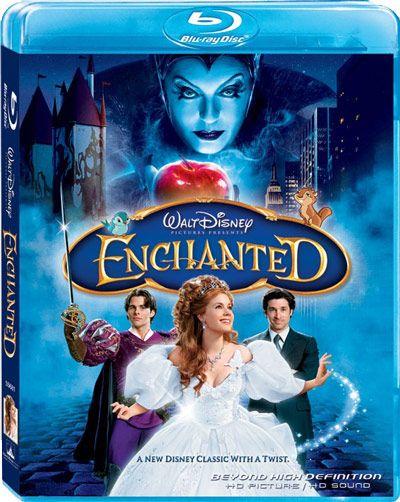 <strong><em>Enchanted</em></strong> Blu-ray
