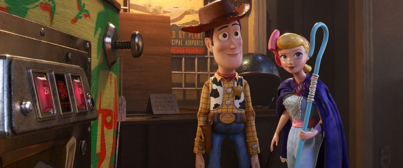 <strong><em>Toy Story 4</em></strong> Woody and Bo photo