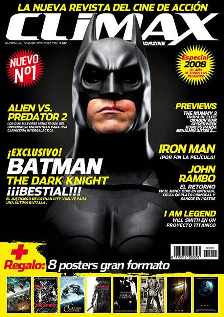 <strong><em>The Dark Knight</em></strong> Lands on the Cover of a Magazine!