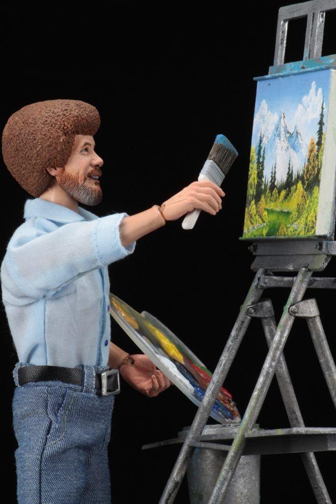Bob Ross Neca Action Figure #2