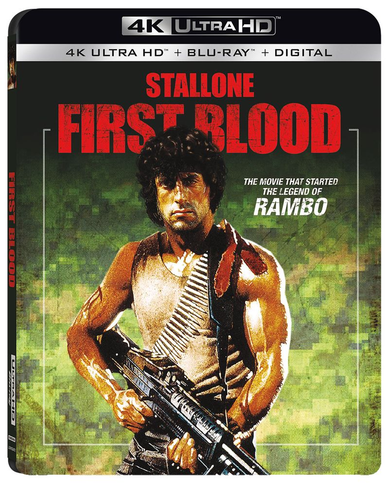 <strong><em>First Blood</em></strong> 4K Ultra HD Blu-ray